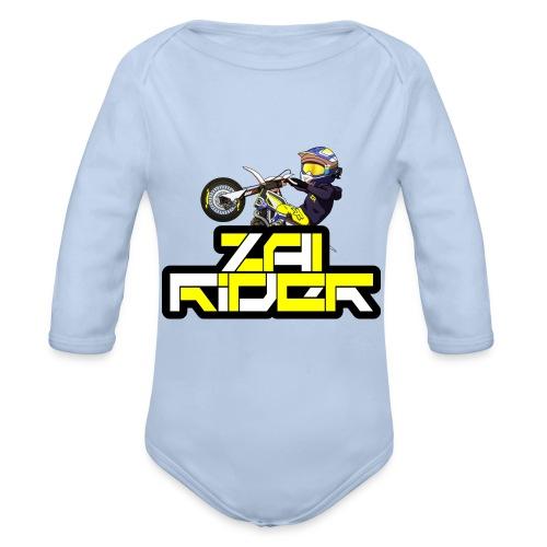 LOGO ZAI RIDER - Body bébé bio manches longues
