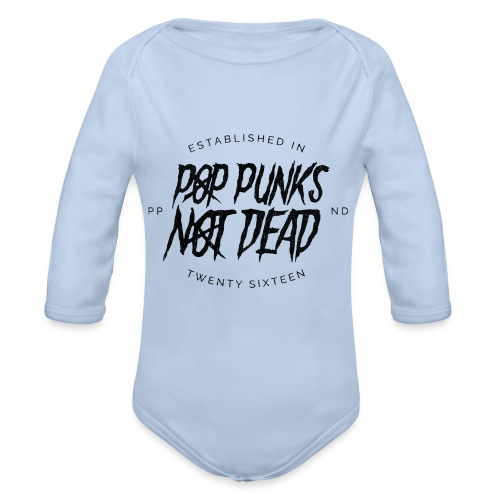 PPND Baseball Tee - Organic Longsleeve Baby Bodysuit