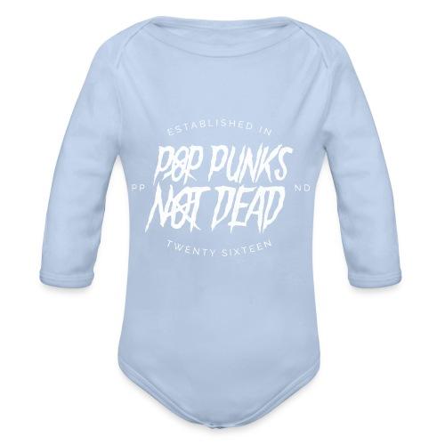 PPND Logo Top - Organic Longsleeve Baby Bodysuit