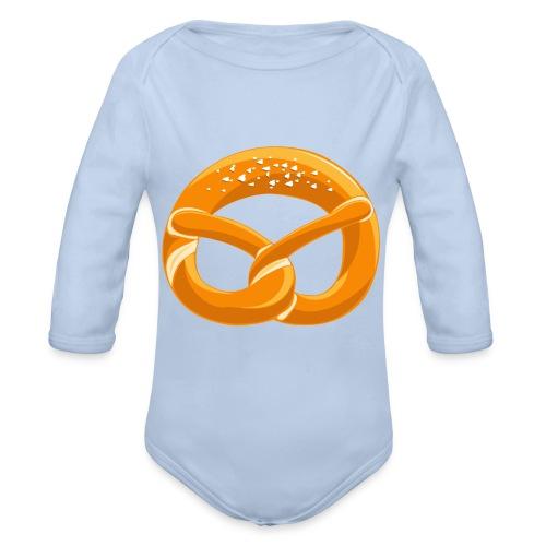 Snackers Logo - Baby Bio-Langarm-Body