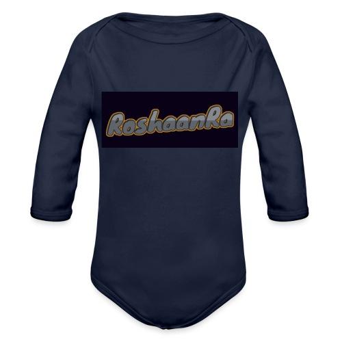 RoshaanRa Tshirt - Organic Longsleeve Baby Bodysuit
