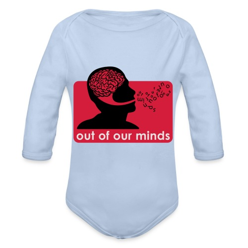 Out of Our Minds - Organic Longsleeve Baby Bodysuit