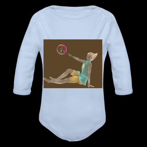 Steven Universe Pearl fanart - Organic Longsleeve Baby Bodysuit
