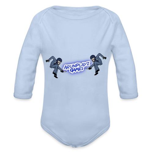 ArunPlayzGames Banner - Organic Longsleeve Baby Bodysuit