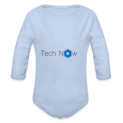 TechNow official logo - Baby Bio-Langarm-Body