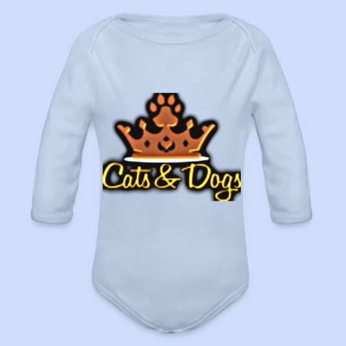 Official Cats&Dogs - Organic Longsleeve Baby Bodysuit