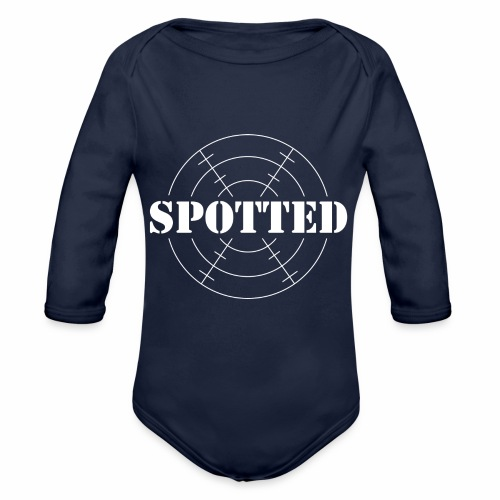SPOTTED - Organic Longsleeve Baby Bodysuit