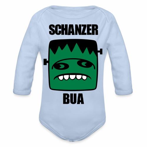 Fonster Schanzer Bua - Baby Bio-Langarm-Body