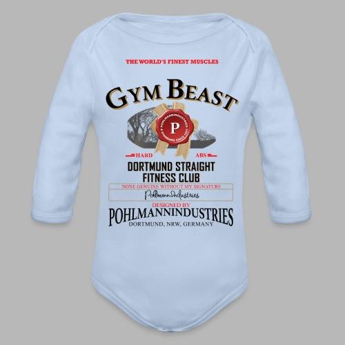 GYM BEAST - Baby Bio-Langarm-Body