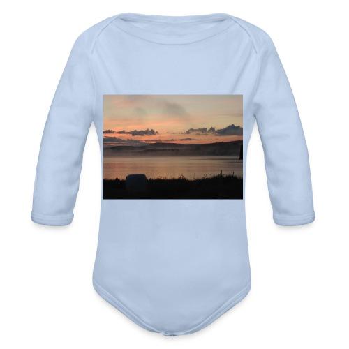 Himmel i Tornedalen - Ekologisk långärmad babybody
