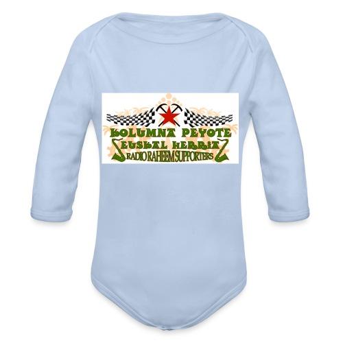 kolumna_peyote_euskadi - Body orgánico de manga larga para bebé