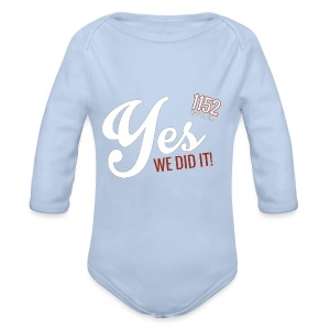 YES_1152w - Baby Bio-Langarm-Body