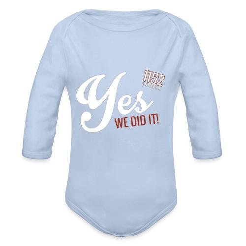 YES-1152.wh - Baby Bio-Langarm-Body