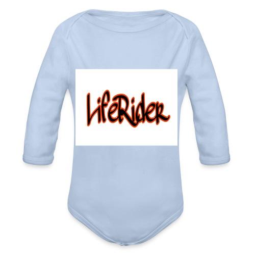 LifeRider - Baby Bio-Langarm-Body
