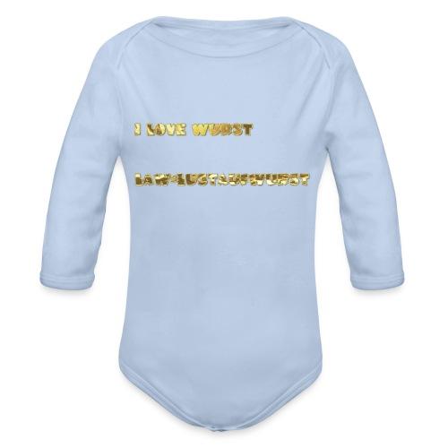 HANDYHÜLLEN VON LAW=LUSTAUFWURST - Baby Bio-Langarm-Body