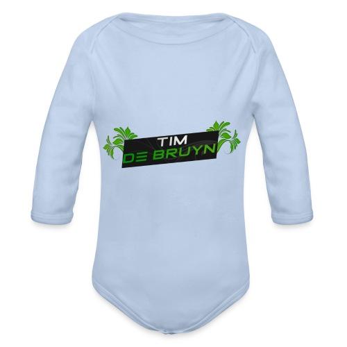custom pet voor tim de bruyn - Baby bio-rompertje met lange mouwen