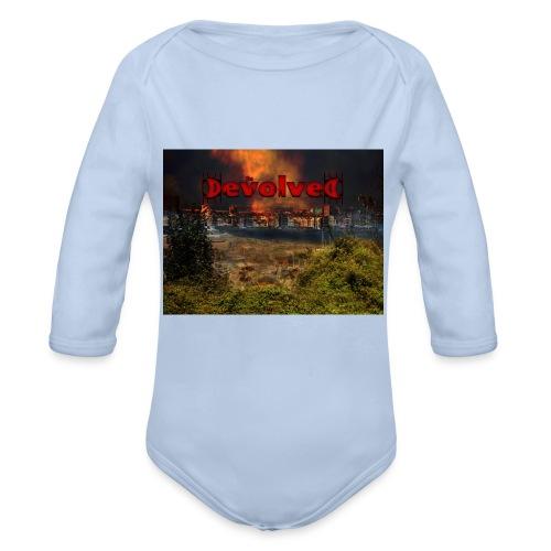 The Devolved Long TS1 - Organic Longsleeve Baby Bodysuit