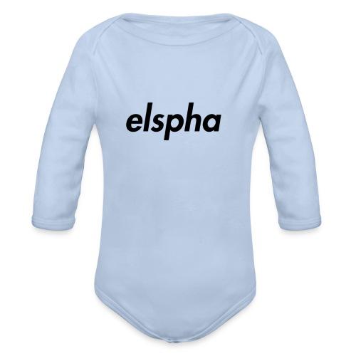 elspha - Organic Longsleeve Baby Bodysuit