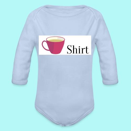 Tea-Shirt - Baby Bio-Langarm-Body