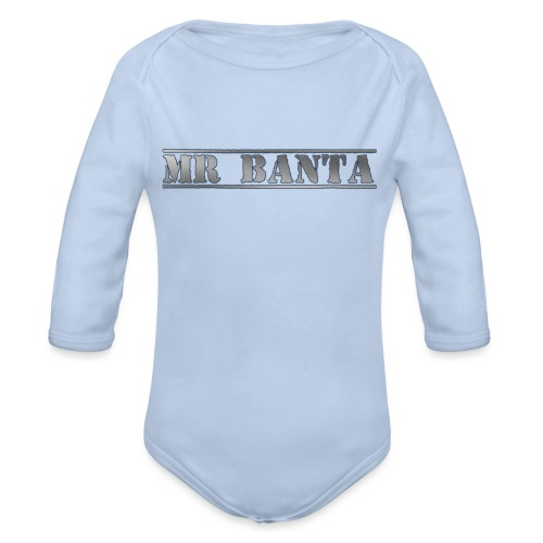 mr banta - Organic Longsleeve Baby Bodysuit