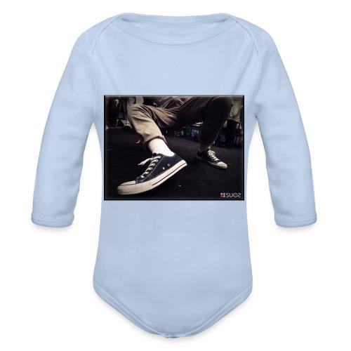 My Steps by SUOS. - Body ecologico per neonato a manica lunga