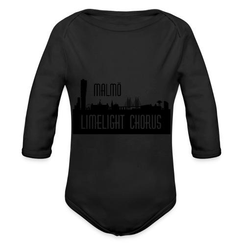 MLCLogo - Ekologisk långärmad babybody