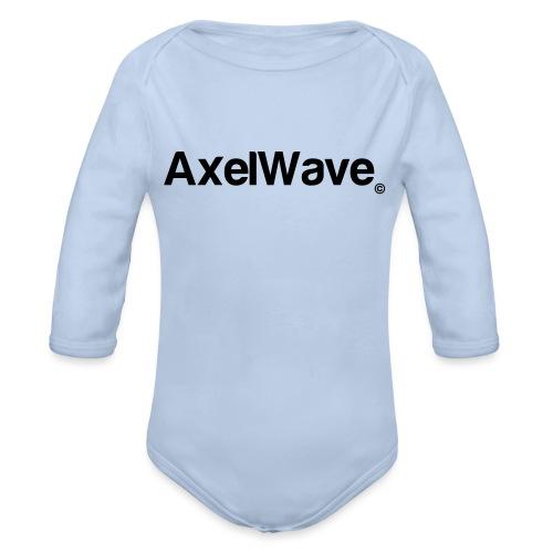 Logo Axelwave copyright - Body Bébé bio manches longues