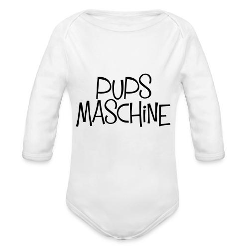 PupsMaschine - Baby Bio-Langarm-Body