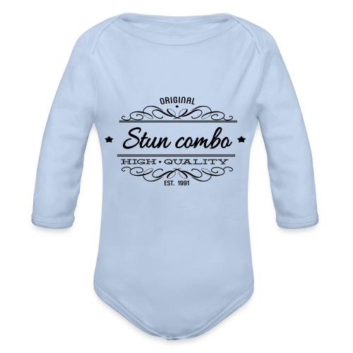 Stun Combo! - Organic Longsleeve Baby Bodysuit