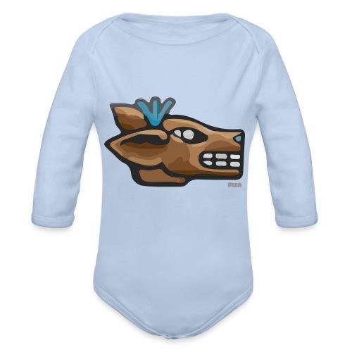 Aztec Icon Deer - Organic Longsleeve Baby Bodysuit