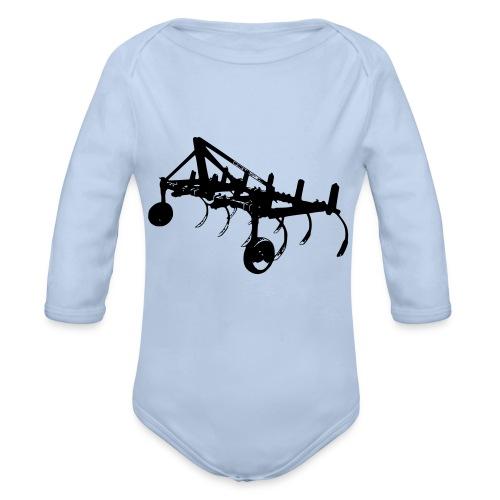 Cultivator1 - Organic Longsleeve Baby Bodysuit