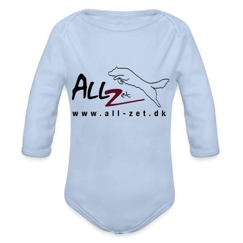 All Zet Logo - Langærmet babybody, økologisk bomuld