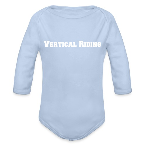 Vertical riding tröja - Ekologisk långärmad babybody