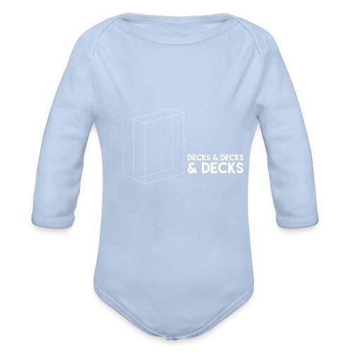 Decks&Decks&Decks - Organic Longsleeve Baby Bodysuit