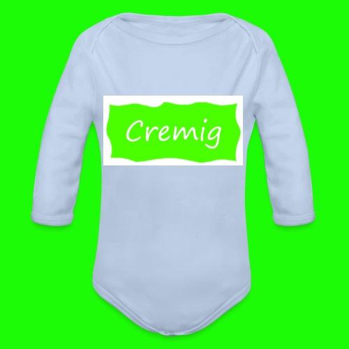Cremich - Baby Bio-Langarm-Body