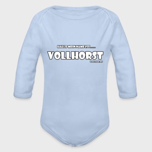 Vollhorst - Baby Bio-Langarm-Body