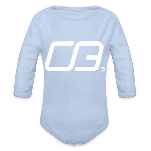 CB Hoodie - Baby Bio-Langarm-Body