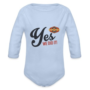 YES-we - Baby Bio-Langarm-Body