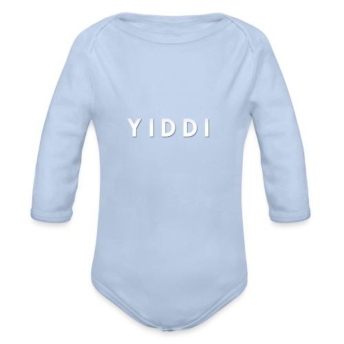 Yiddi : YIDDI-SHIRT - Baby Bio-Langarm-Body