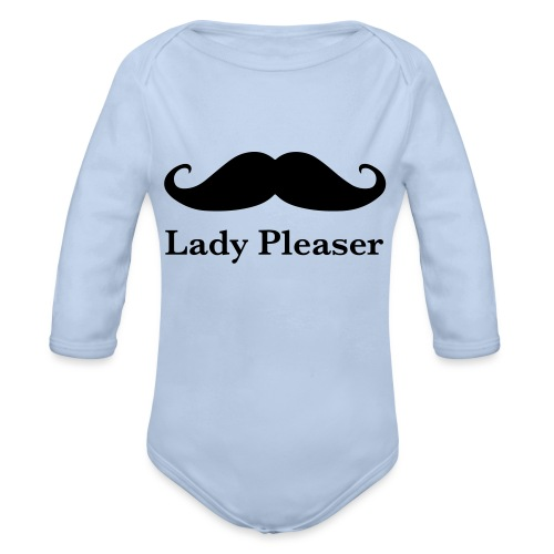 Lady Pleaser T-Shirt in Green - Organic Longsleeve Baby Bodysuit
