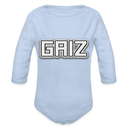 Gaiz-maglia bianca - Body ecologico per neonato a manica lunga