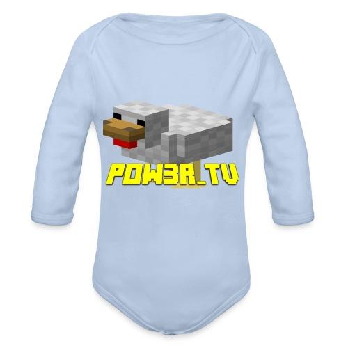 POW3R-IMMAGINE - Body ecologico per neonato a manica lunga