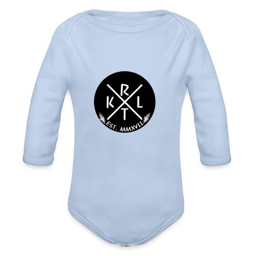 KRTL Original Brand - Baby bio-rompertje met lange mouwen