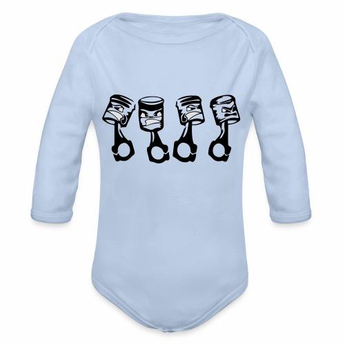 Freche Kolben - Baby Bio-Langarm-Body