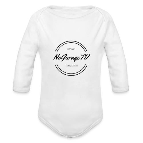 NoGarageTV (3) - Langærmet babybody, økologisk bomuld