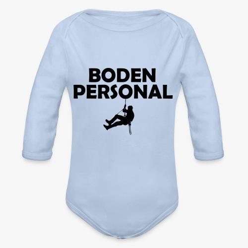 bodenpersonal - Baby Bio-Langarm-Body