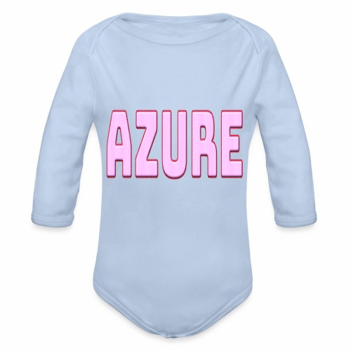 AZURE - Body Bébé bio manches longues