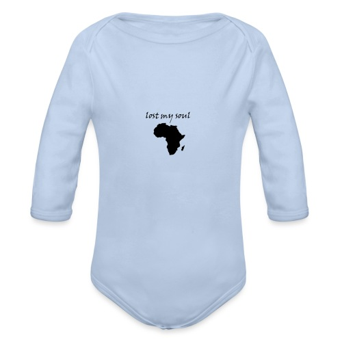 lost my soul in africa - Baby Bio-Langarm-Body