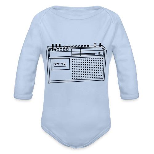 Rekorder R160 - Baby Bio-Langarm-Body