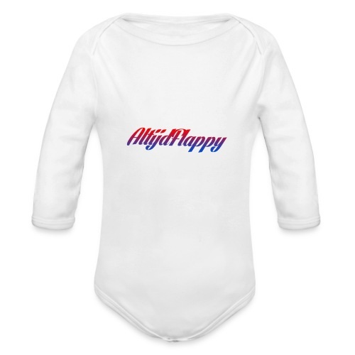 T-shirt AltijdFlappy - Baby bio-rompertje met lange mouwen